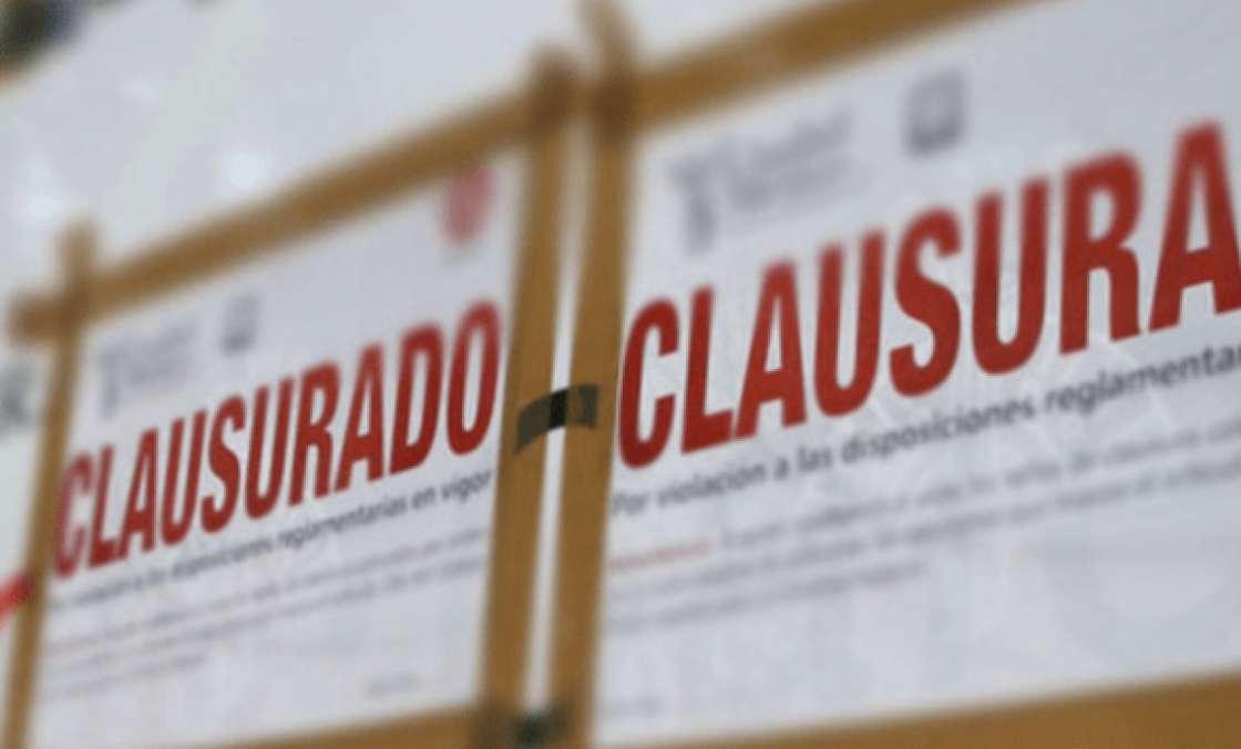 Cinco negocios fueron clausurados en Morelia por incumplimiento de medidas